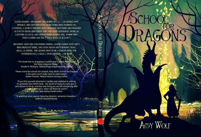 School for Dragons - Full Cover